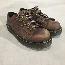 Vintage 90s Doc Martens Sz 10 Men's Boots Low Leather Punk Dr. Made In England