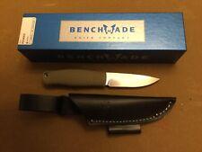 Benchmade 200 Puukko Fixed Blade Knife CPM-3V Blade Leather Sheath