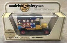 "1978 LESNEY MATCHBOX MIP - FORD MODEL ""T"" TRUCK SUNLIGHT SOAP ""RARE"""
