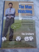 SIGNED by Tim Crothers~ The Man Watching ~ UNC Women's Soccer  ~ HDCR ~ VGC
