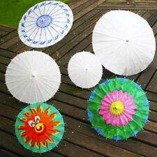 Bamboo Paper Umbrella Parasol Wedding Party Dancing Bridal Decor Coasplay lot US