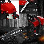 "Handheld 58cc Chainsaw 20"" Bar Powered Engine 2 Cycle Gasoline Chain Saw Metal"