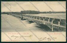 Alessandria Casale Monferrato Alluvione cartolina QK0703