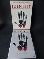 DVD IDENTITY  bon état