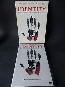 DVD Identity Fine Condition