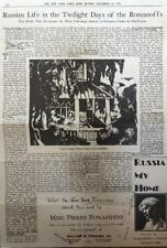 Mme. Pierre Ponafidine- Signed Article from a Newspaper