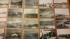 WWII PHOTO LOT OF 50 PHOTOS 15TH USAAF ITALY ISLE OF VIS BOMBERS,CRASHES LOOK