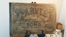 Harvest of Song A Collection of Sacred and Secular Music for Advanced 1878