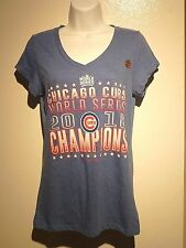 Women's Chicago Cubs 2016  World Series Chanpions size M new with tags T Shirt