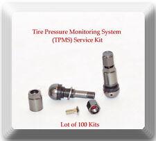 100 Kits Tire Pressure Monitoring System(TPMS)Sensor Service Kit Fits Audi BMW &