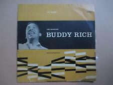 The Swinging Buddy Rich, jazz, rare Aust press, 10 inch