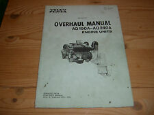 Werkstatthanbuch aq190a - 240a Motore Benzina Volvo Penta