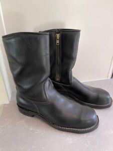Wesco Steel Toe Engineer Boots, Custom, Size 11.5