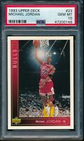 PSA 10 MICHAEL JORDAN 1993-94 Upper Deck #23 Chicago Bulls HOF GOAT GEM MINT