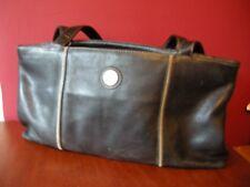 'The SAK Original' Black Leather Over The Shoulder Bag