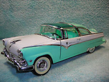 1/18 SCALE DIECAST 1955 FORD CROWN VICTORIA  IN MINT GREENWHITE BY YAT-MING.