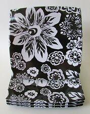 "Missoni Italy Black & White Floral Melamine 8.5"" Plates Set of 4"