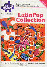 Junior Jigsaw Latin Pop Collection Learn to Play Recorder Flute Piano Music Book
