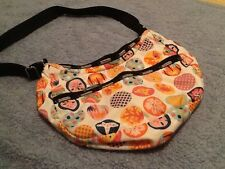 LeSportsac  Under Water Beach Circles Adorable Purse Rare