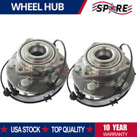 2 Front Wheel Hub Bearing Assembly For Jeep Commander Grand Cherokee 4WD 4X4 RWD