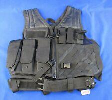 NcStar VISM CTV2916 Cross Draw Military Vest (Black)