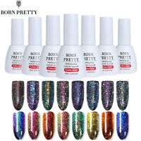 10ml Born Pretty Chameleon Sequins UV Gel Polish Soak Off Glitter Gel Varnish
