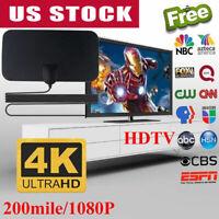 300 Mile Range Antenna Digital Skylink 4K Antena Indoor Digital HD TV HDTV 1080P