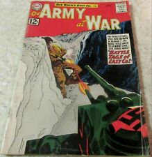 Our Army at War 120, (FN- 5.5) 1962 Kubert art! 40% off Guide!