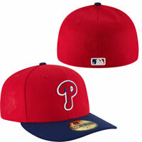 Philadelphia Phillies New Era 59FIFTY 5950 Game Low Crown Fitted Hat 7 1/4 NEW