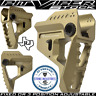 Strike Industries Pit Viper FDE/tan Billet Aluminum Stock Fixed/3Position SBR/R