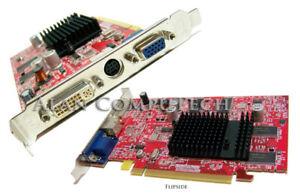 Dell 109-A33400-00 DVI-VGA 256MB PCIe Video Card UC946 ATi DVI-VGA-TV Graphics