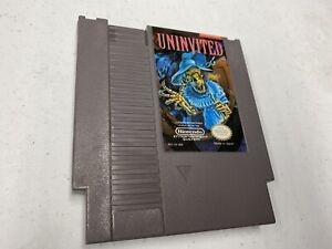 Nintendo NES Uninvited Rare! Authentic 8 Bit Cartridge Cleaned Tested Works!