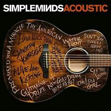 Simple Minds - Acoustic 12 Track CD Album With Hand Signed Booklet