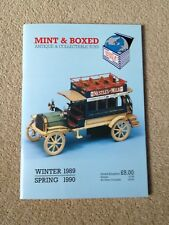 Mint & Box Antique & Collectable Toys Catalogue Winter 1989