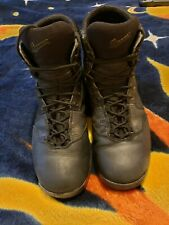 "Men's Danner 28015 Kinetic 6"" GTX Leather Military Tactical Boots Black Sz 10.5D"