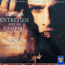LASERDISC - ENTRETIEN AVEC UN VAMPIRE - WS VF PAL - Brad Pitt, Tom Cruise