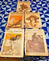 VTG Farm and Fireside Magazine 5 Issues-Jan.,Feb.1918~Feb,June,July 1919