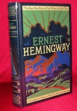 Ernest Hemingway ~ Four Novels ~ Leather Bound Collectible Edition