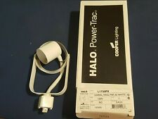 Halo Power-Trac Track Light Fixture White L1730PX Gimbal Ring