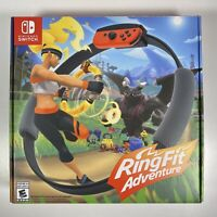 Nintendo Ring Fit Adventure W/ Game For Switch 2019 Complete EUC