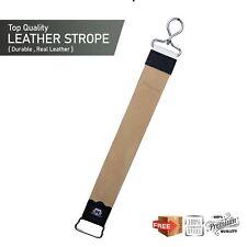 leather sharpening strop, razor strop cut throat Straight Razor Sharpening Strop
