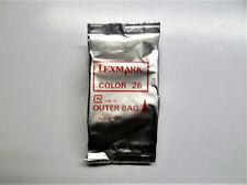 Lexmark 26 color X74 X75 X1100 X1200 X2200 Z13 Z23 Z25 Z33 Z35 Z500 Z600 o.V.