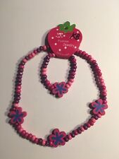 Wooden Beads (STARS) Children's Necklace & Bracelet Sets-K8