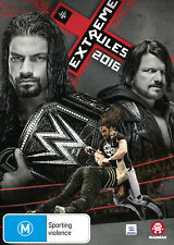 WWE: EXTREME RULES 2016 DVD NEW