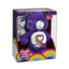 Care Bears Rainbow Heart 35th Anniversary Plush Kids Sparkly Cuddly Soft Toy