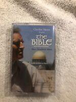 Charlton Heston Presents The Bible Music Soundtrack  CASSETTE TAPE-NEW SEALED