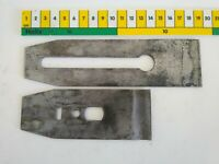 "Stanley USA Sweet Heart Plane Blade & Chip Breaker 2"" Wide No.4 No.5 As Found"
