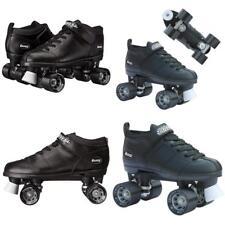 Chicago Bullet Men's Size 9 Speed Roller Skate for Skating and Racing (Black)