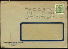 Sweden 1955 Cover #C38366