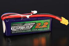 Turnigy Nano-Tech 2200mAh 3S 11.1V 45C 90C LiPo Battery FPV Trex Blade Glider US